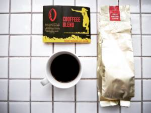 Rugby Tackling Life - COOFFEEE. A Ugandan coffee blend that we developed ourselves. Super great coffee we are very proud of and that you can buy online, too.