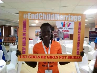 End child marriage, play Rugby