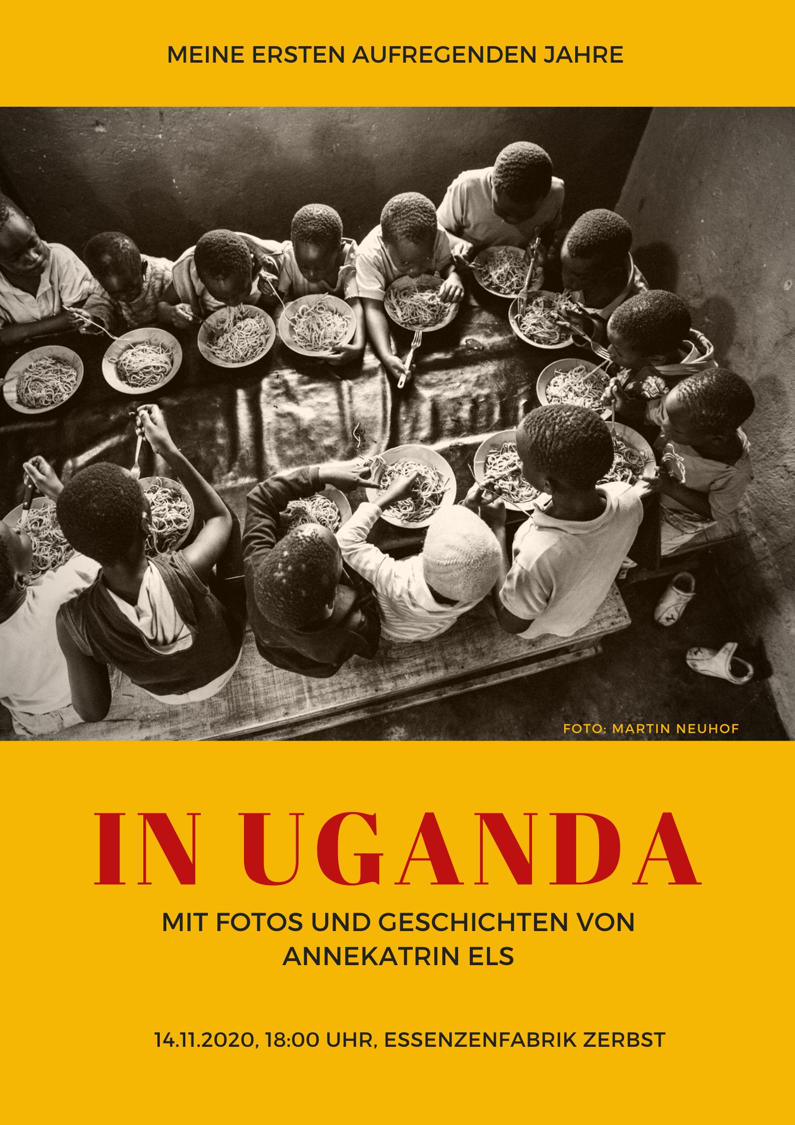 In Uganda. Foto von Martin Neuhof.